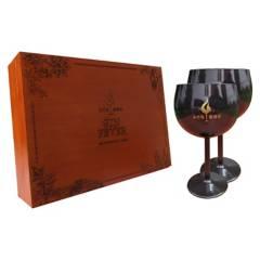 GIN FEVER - Kit Premiun Gin Fever + 2 Copas Negras