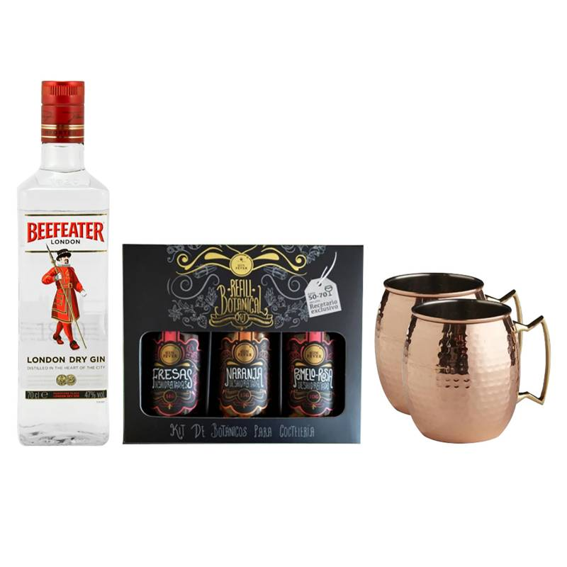 GIN FEVER - Box Citrus Gin Fever Beefeater