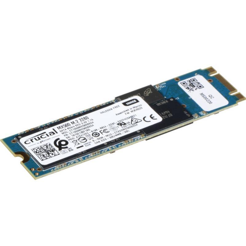 CRUCIAL - Disco SSD 1TB MX500 M.2 CT1000MX500SSD4