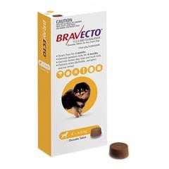 BRAVECTO - Antipulgas para Perros Bravecto 2 - 4.5 kg
