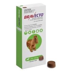 BRAVECTO - Antipulgas para Perros Bravecto 10 - 20 kg
