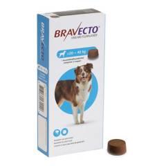 BRAVECTO - Antipulgas para Perros Bravecto 20 - 40 kg