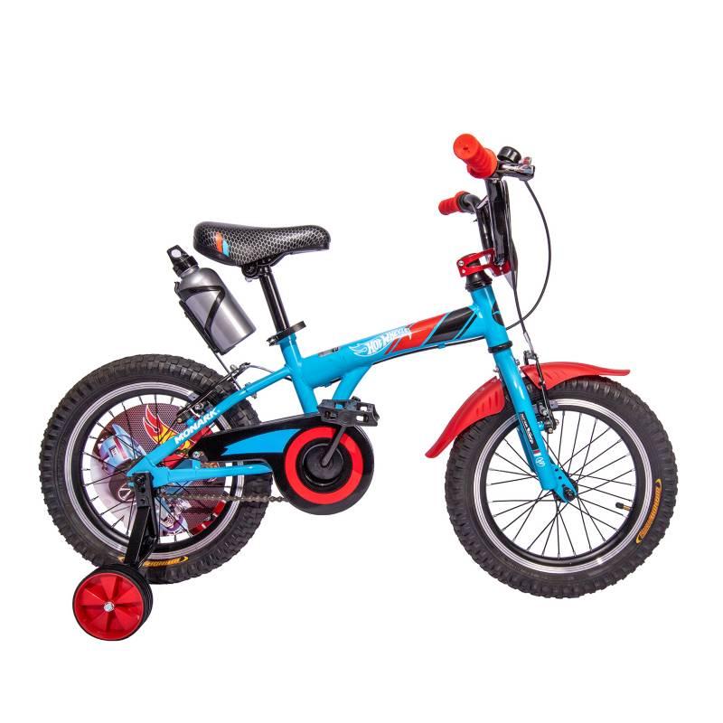 Monark - Bicicleta Infantil Hot Wheels Racing Aro 16