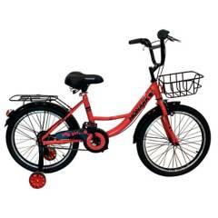 "Monark - Bicicleta City Girl Aro 20"" Coral"