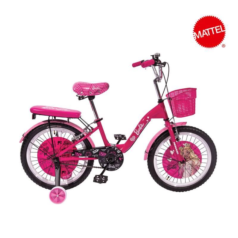 Monark - Bicicleta Infantil Barbie Urban Aro 20