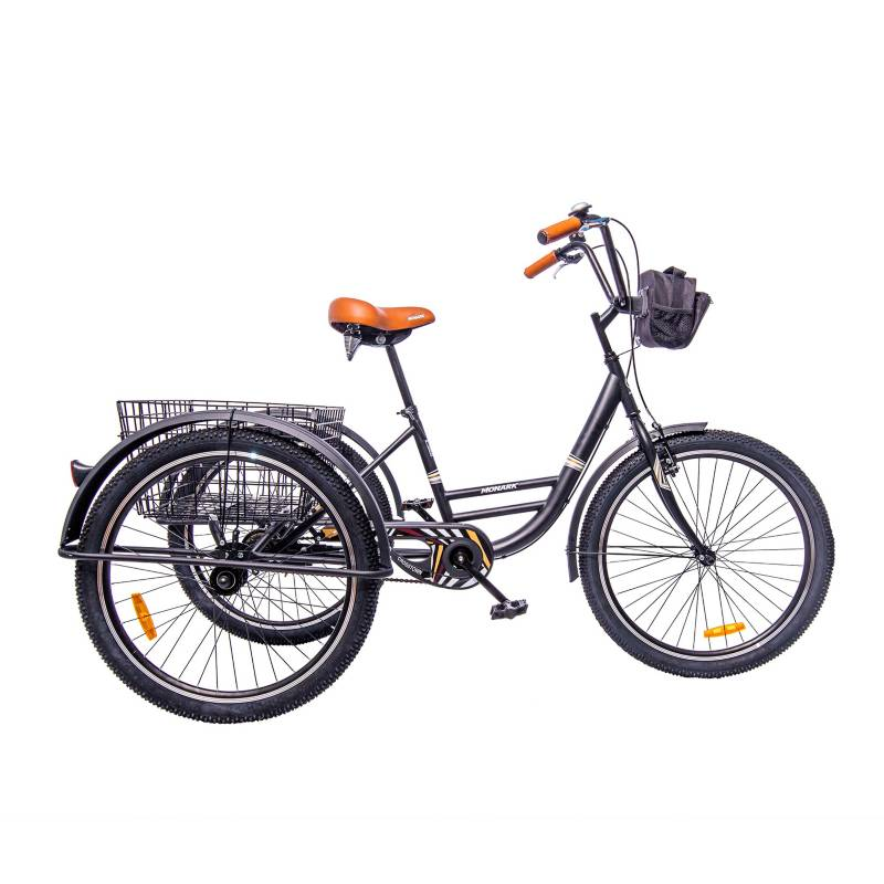 Monark - Bicicleta Tricicargo Crosstown Aro 26