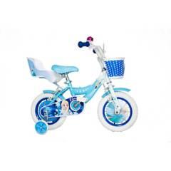 "Monark - Bicicleta Frozen Elsa Aro 12"" Celeste"