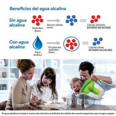 WATERLIFE - Jarra purificadora de agua 3.5 Litros