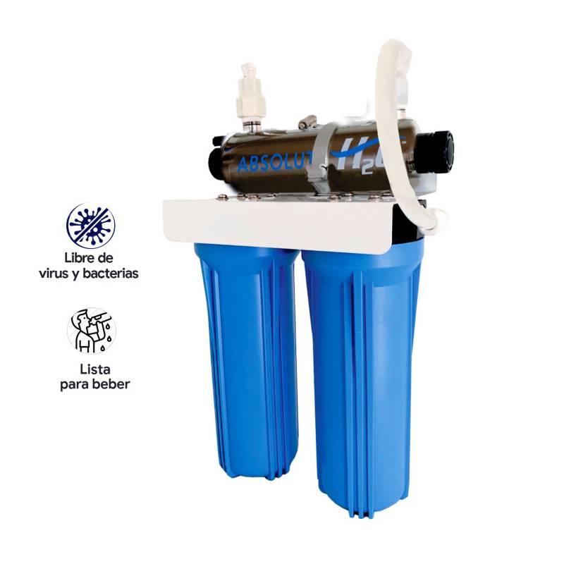WATERLIFE - Purificador de agua con Ultravioleta UVSYS 1GPM