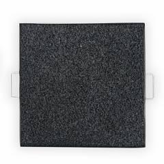 REYEMSA - Bandeja Desinfectante para Calzado de Acero Inoxidable 50x50x3 cm