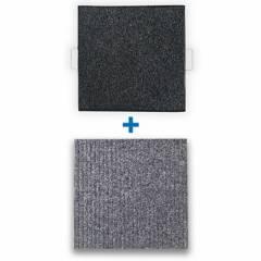 REYEMSA - Kit Bandeja Desinfectante para Calzado 50x50 + Tapete para Secado