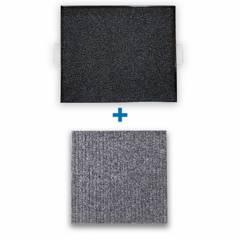 REYEMSA - Kit Bandeja Desinfectante para Calzado 60x50 + Tapete para Secado