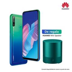 HUAWEI - Huawei Y7P 2019 blue + Mini speaker