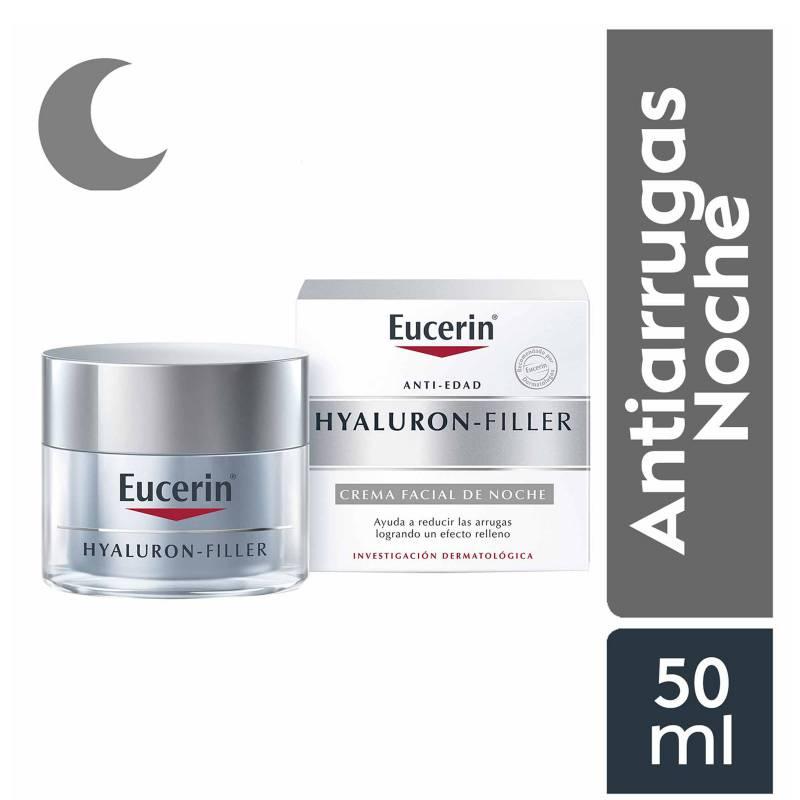Eucerin - Hyaluron-Filler Crema Facial Antiarrugas de Noche