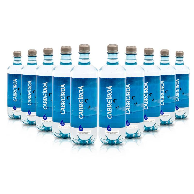 CABREIROA - Pack x 10 Agua sin gas 1lt
