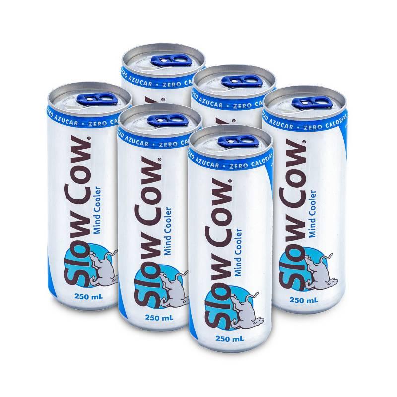 SLOW COW - Pack x 6 Bebida relajante 250ml