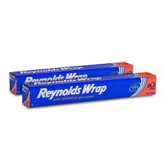 REYNOLDS - Pack papel aluminio 50SF (15.2m x 30.4cm) x 2unid