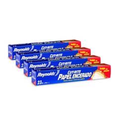 REYNOLDS - Pack papel de cera 75SF (23m x 30.2cm) x 4unid