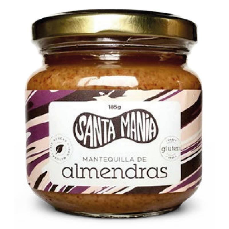SANTA MANIA - Mantequilla de Almendras Santa Mania 185gr