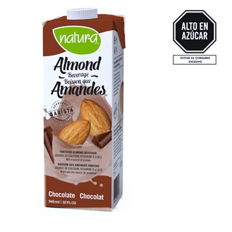 NATURA - Leche De Almendras Chocolate Natura Almond 946ml