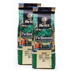BRITT - Pack x 2 Cafe Molido Pachamama Britt X 250Gr