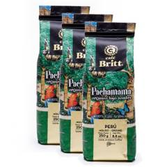 BRITT - Pack x 3 Cafe Molido Pachamama Britt X 250Gr