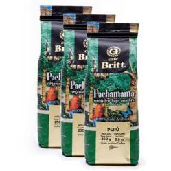 BRITT ESPRESSO - Pack x 3 Cafe Molido Pachamama Britt X 250Gr