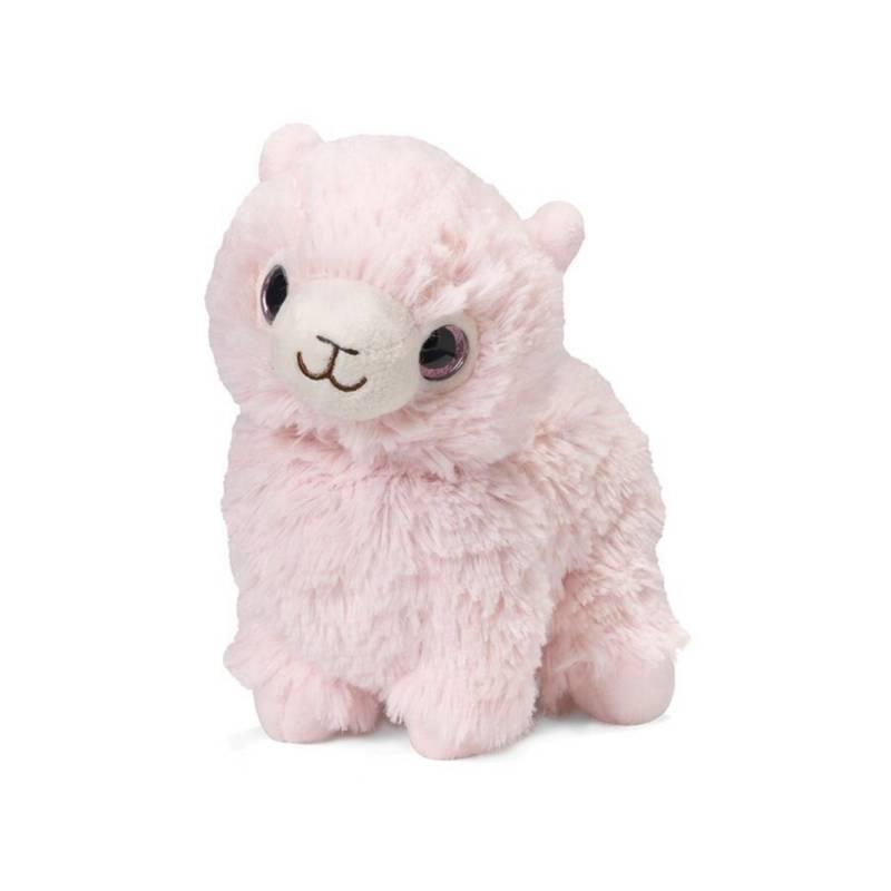 WARMIES - Peluche Llama Rosa Junior