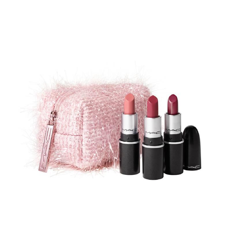MAC - Fireworked Like a Charm Mini Lipsticks Kit: Pink