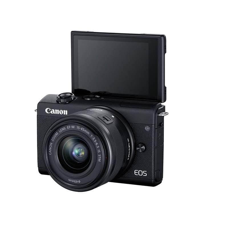 CANON - Cámara Canon Mirrorless EOS M200 con Lente EF-M 15-45 mm IS STM