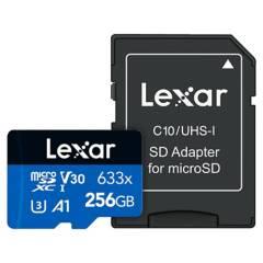 LEXAR - Tarjeta de Memoria Laxar SDMI  - 256GB 633X