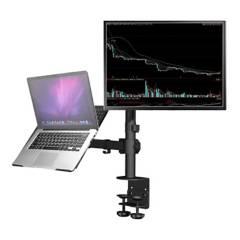 HYGGE TECH - Soporte doble para Monitor y Laptop