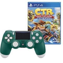 SONY - Mando Playstation 4 Alpine Green + Crash CTR