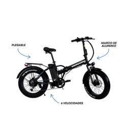 Monark - Bicicleta Eléctrica E-Motion AL Aro 20'
