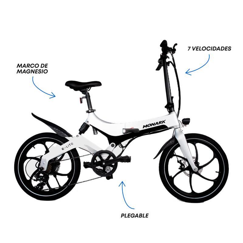 Monark - Bicicleta Eléctrica E-Lite Aro 20'