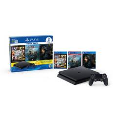 SONY - PS4 HW 1TB MEGAPACK 13