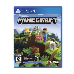 PLAY STATION - PS4 Minecraft Bedrock Strater Coll