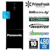 PANASONIC - Refrigeradora Panasonic de 480 lt NR-BB71GVF