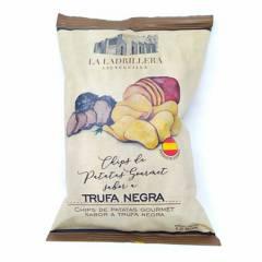 LA LADRILLERA - Patatas sabor trufa negra 125gr