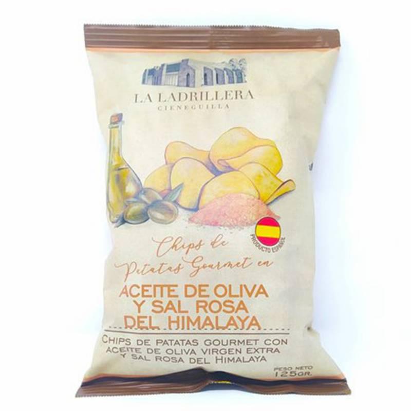 LA LADRILLERA - Patatas con aceite oliva extra virgen y sal rosa del Himalaya 125gr