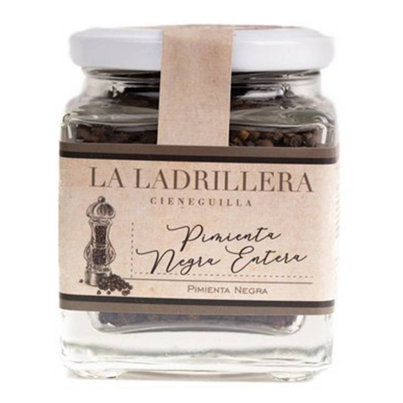 LA LADRILLERA - Pimienta Negra Entera 100gr