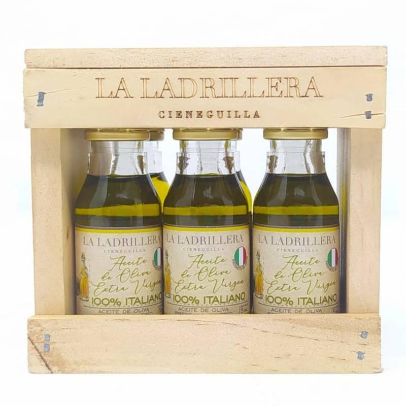 LA LADRILLERA - Pack 6 AOVE 100% italianos