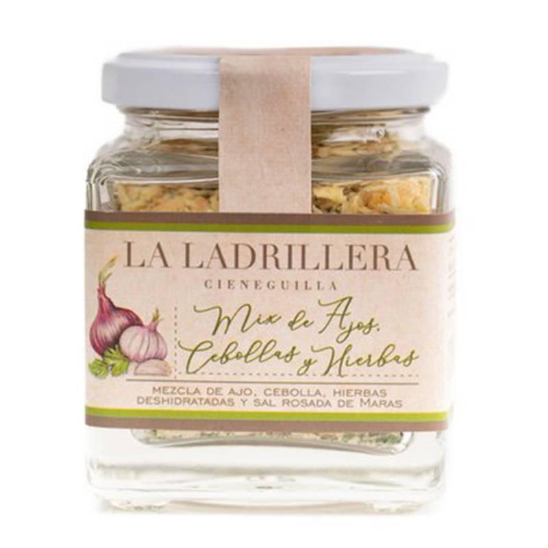 LA LADRILLERA - Mix ajo, cebolla y hierbas 75g