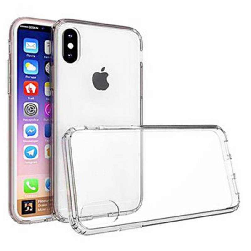 UBY - Case Funda Iphone XS/X de TPU Transparente