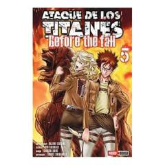 PANINI - Ataque De Los Titanes The Fall N.5