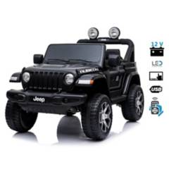 JEEP - Jeep Wrangler Rubicon 12V Pantalla Video USB
