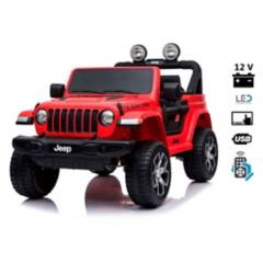 JEEP - Jeep Wrangler Rubicon 12V Pantalla Video USB