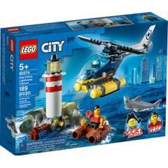 LEGO - Lego 60274 Policía de Élite: Detención en El Faro