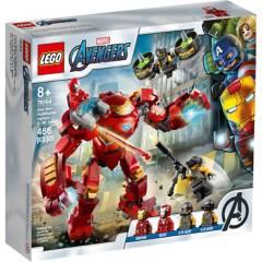 LEGO - Hulkbuster De Iron Man Vs. Agente De A.I.M.