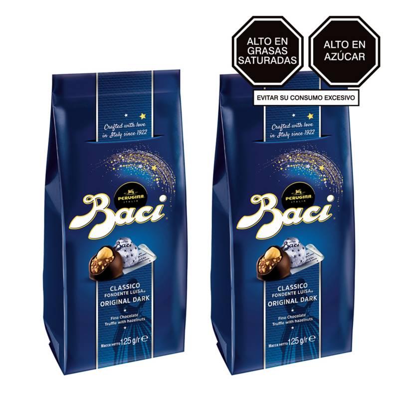BACI - Pack x 2 Baci Bag Chocolate Original 125gr